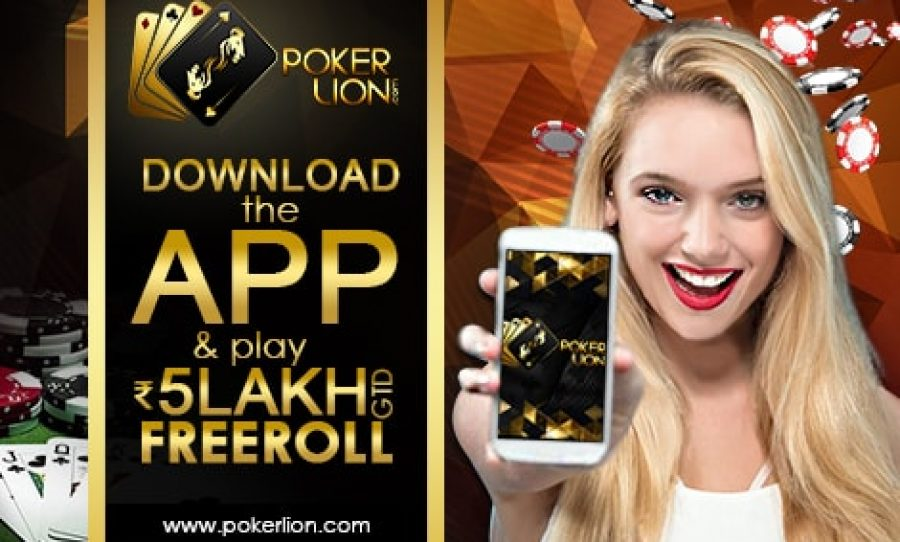 PokerLion Celebrates Android App Launch With ₹5 Lakhs GTD Freeroll
