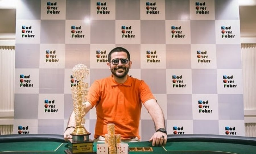 Alireza P Wins MadOverPoker - First Live Tournament Hysteria Live For ₹1.22 Lakhs