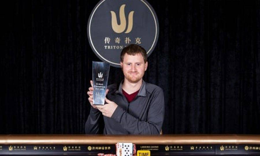 David Peters Wins Triton Poker Super High Roller Series Jeju HK$500K NLH 6- Max For HK$8.77 Million