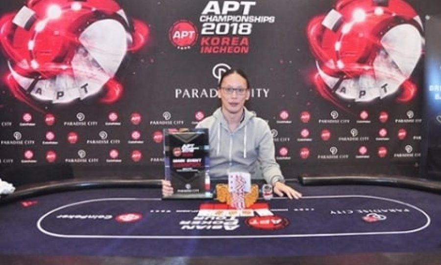 Iori Yogo Wins APT Korea Incheon Championships Main Event For ₩40