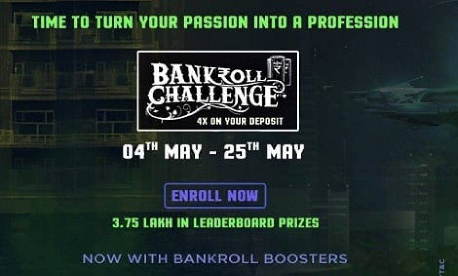 MadOverPoker Announces Bankroll Challenge 3.0 With Major Updates