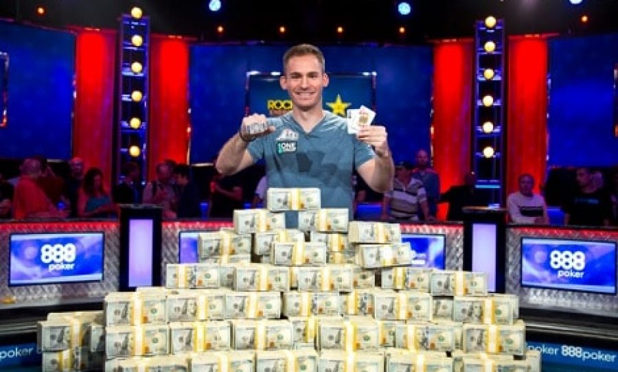 WSOP 2018: Justin Bonomo Wins 3rd Bracelet in The Big One for One Drop For $10 Million