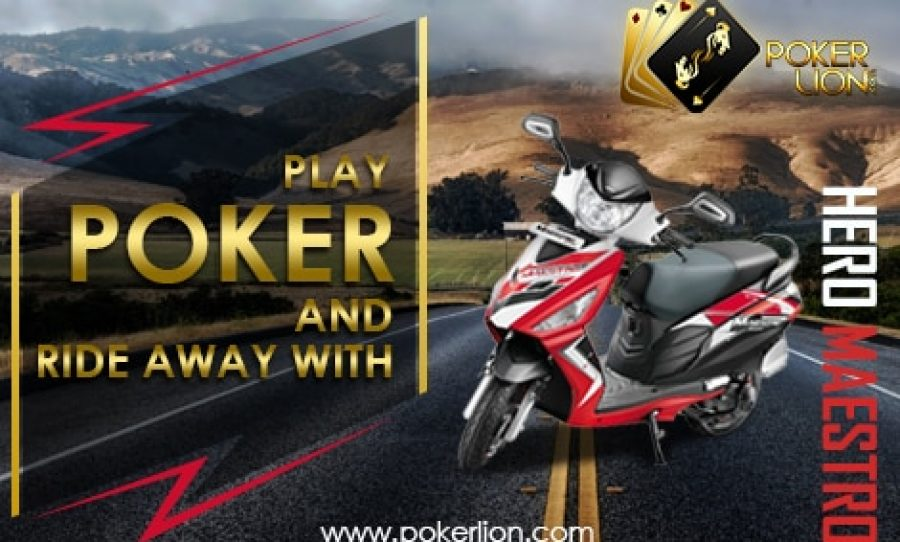 PokerLion.com Launches Exciting Offer for June: A Weekly Raffle Prize of Hero Maestro Scooter