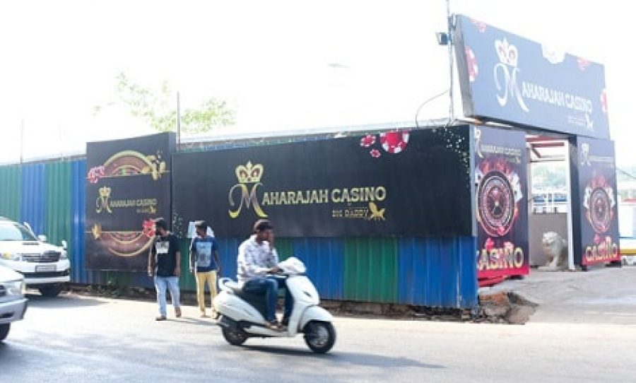 Maharaja Casino Footpath Baricade Row: Corporation of City of Panaji Moves In