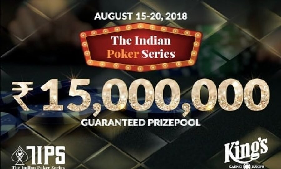 The Indian Poker Series Ready to Make a Grand Debut at The King's Casino in August