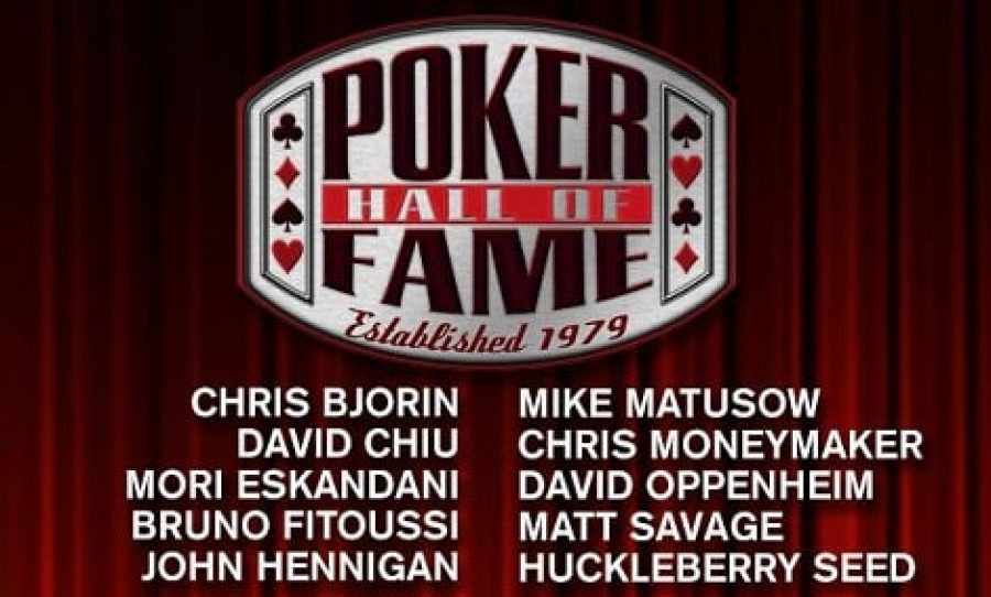 10 Finalists For The Poker Hall of Fame Class of 2018 Announced