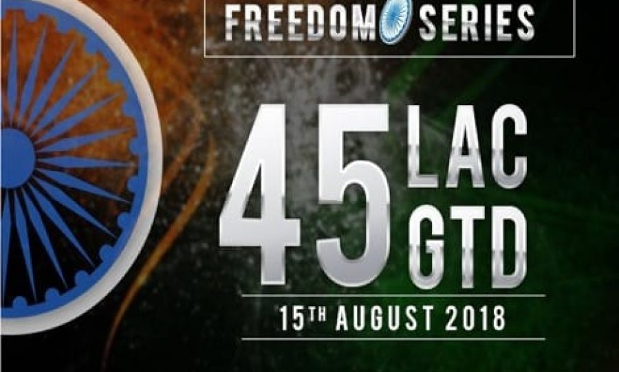 PokerBaazi to Host Independence Day Special 'Freedom Series' With ₹45 Lakhs GTD