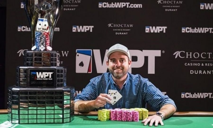 Brady Holiman Wins WPT Choctaw Main Event For $469