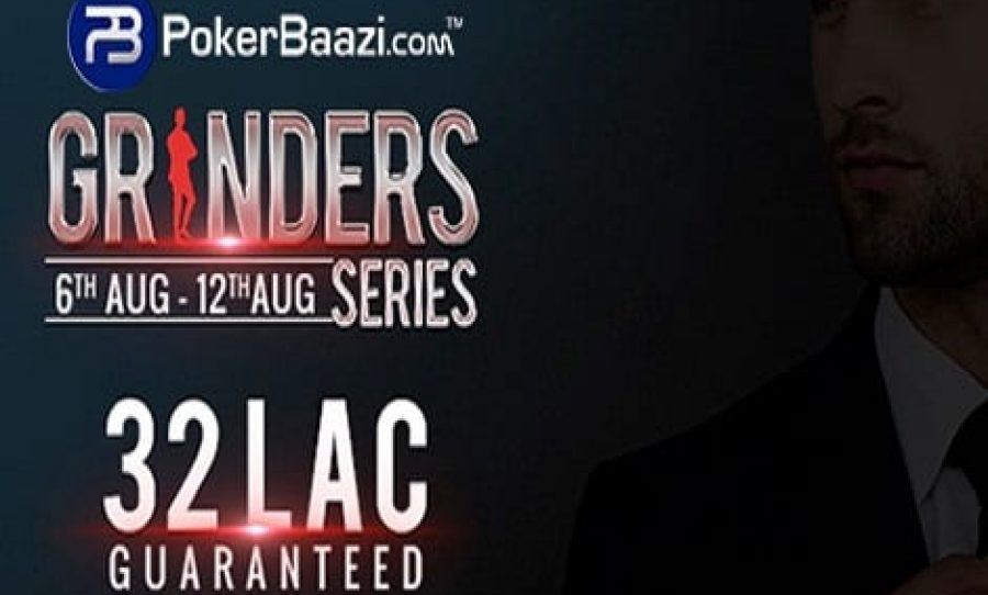 PokerBaazi's Baazi Grinders Series ₹32 Lakhs Guaranteed Gets Underway