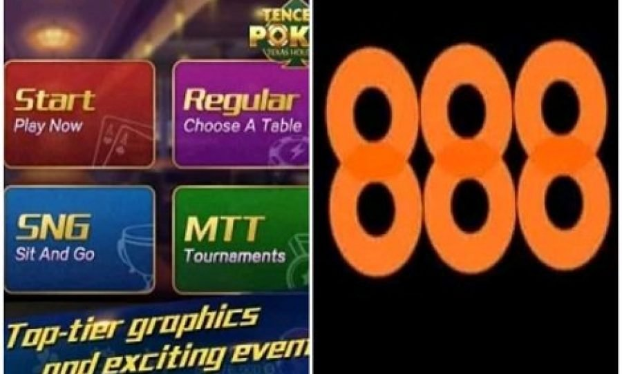 Tencent Poker and 888sport
