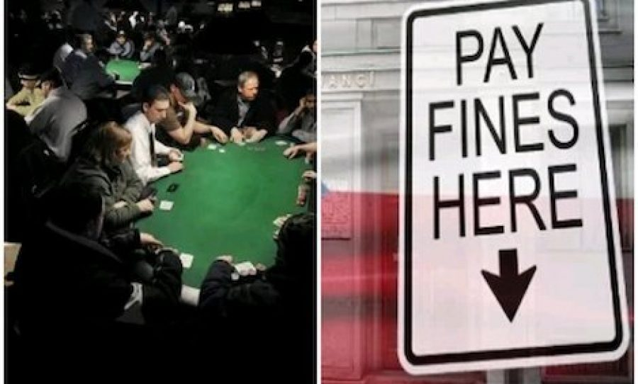 Charity Poker Room run by the Northside Knights and Ministry of Finance's inability to collect on Fines