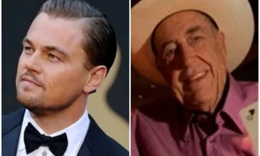 Leonardo DiCaprio and Doyle Brunson
