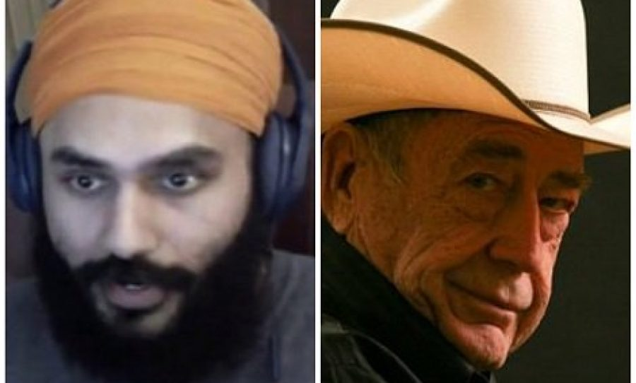 Vikram Singh and Doyle Brunson