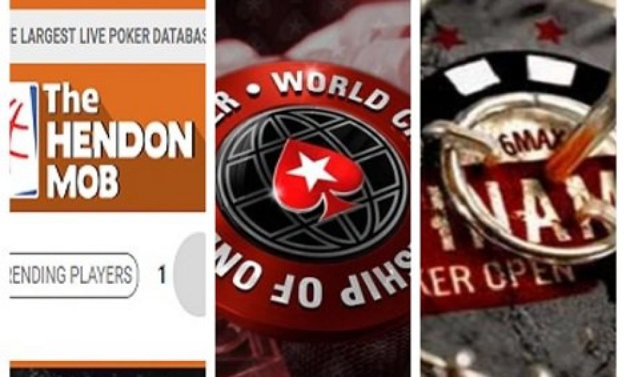 The Hendon Mob, World Championship of Online Poker and Winamax Poker Open