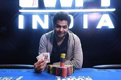 Winner of 2017 WPT India ₹20K Kickoff - Kanishka Samant