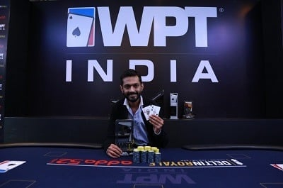 Winner of 2018 WPT India ₹20K Shootout - Pratik Goel