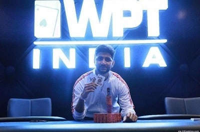 Winner of 2017 WPT India High Roller - Rajnish Kumar