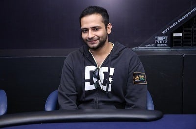 Runner-Up of 2018 WPT India ₹55K Main Event - Sahil Mahboobani