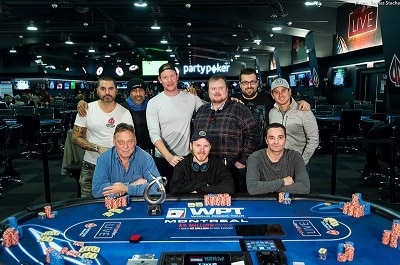 WPT500 Montreal Final Table