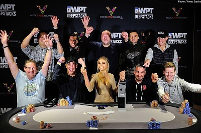 Final Table of the WPTDeepStacks Brussels Main Event
