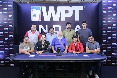 2018 WPT India ₹25K Big Bounty Final Table
