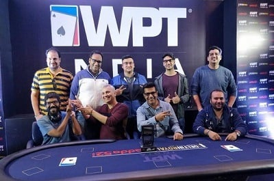 WPT India 2018 ₹20K Kickoff Final Table