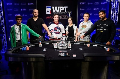 WPT Montreal Final Table