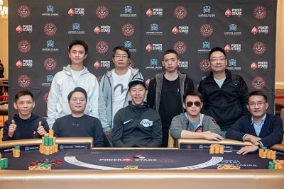 ₩2.2M Red Dragon Main Event Final Table
