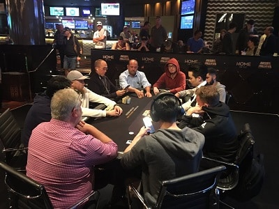 Opening Event Final Table