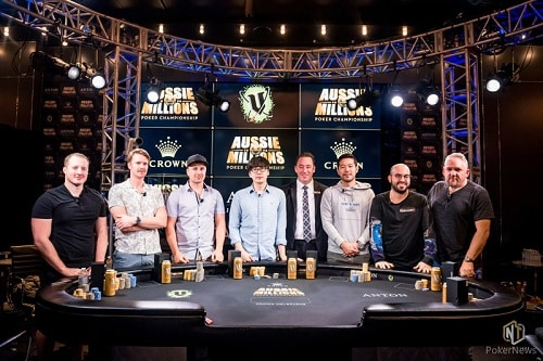 Aussie Millions Main Event Final Table