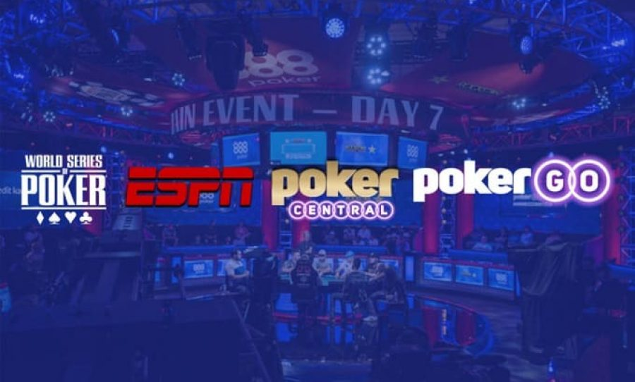 WSOP, ESPN, Poker Central & PokerGO