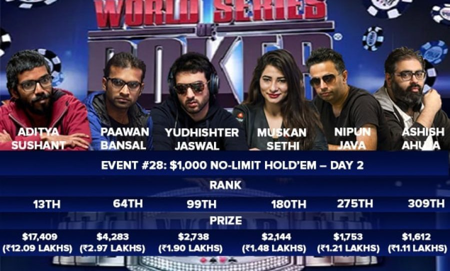 WSOP Event 28 Day 2 Cover Image