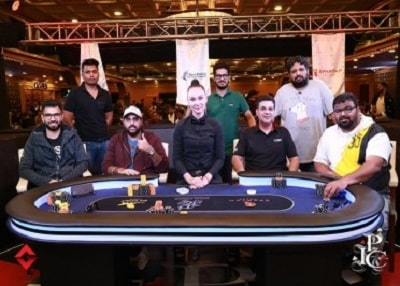 The IPC 100K High Roller final table