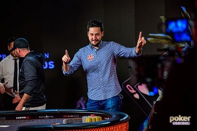 Adrian Mateos Wins the partypoker Millions Main Event