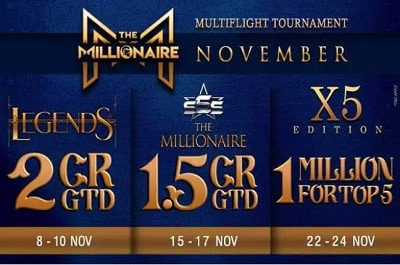 Spartan Poker announces 3 Millionaire editions for November