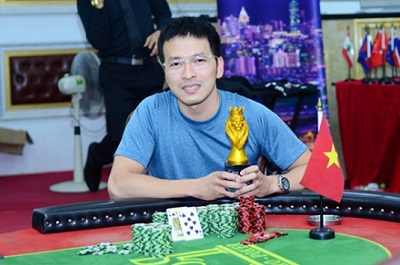 Trinh Cuong wins Monster Stack 2