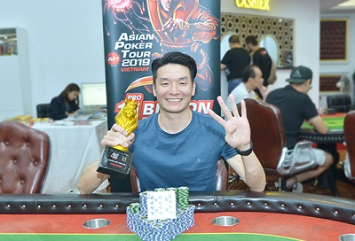 Vincent Li won High Rollers