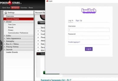 PokerStars Integrates with Twitch