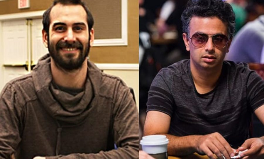 WSOPC Harrah's Las Vegas - Anthony Spinella and Nipun Java