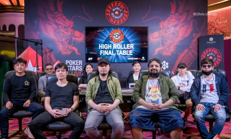 ₱250,000 Red Dragon High Roller Final Table