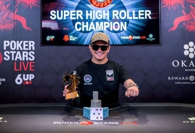 Lester Edoc wins the PHP500K Super High Roller