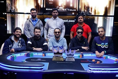 The 8-handed final table