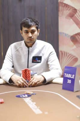 2nd in Chips Kartik Ved