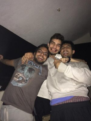 Shardul Parthasarathi With His Friends