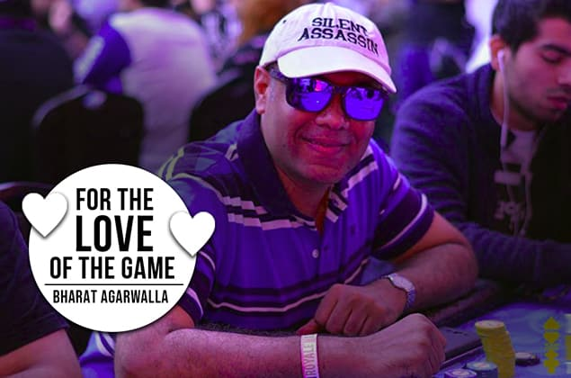 Bharat Agarwalla - for the love of the game