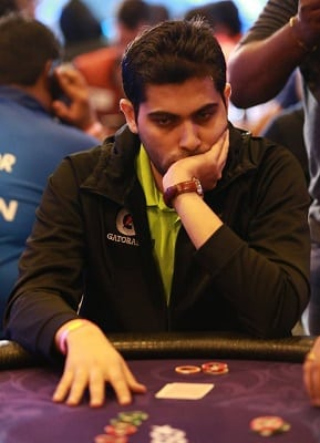 2nd in Chips Avadh Shah