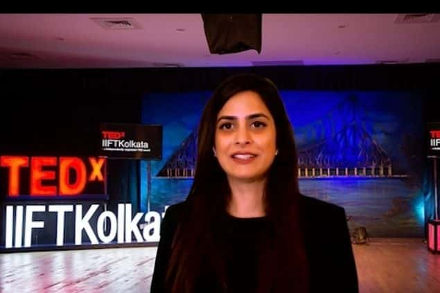 Spartan Poker Team Pro Nikita Luther Speaks About Betting Big Going All In Catching Bluffs In Her Tedx Talk At Iift Kolkata Pokerguru