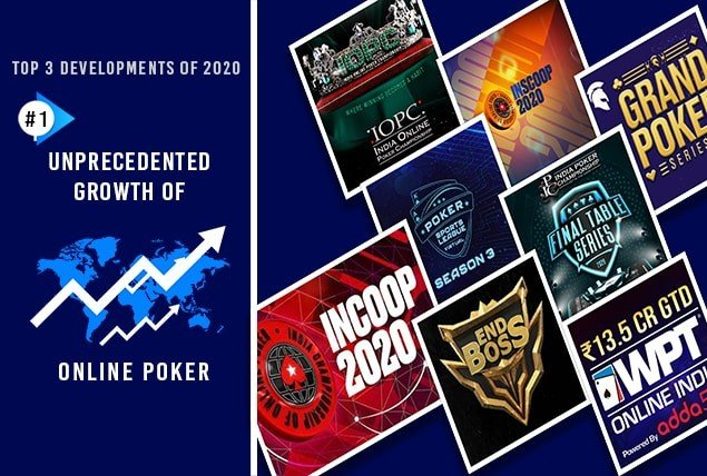 Top 3 Developments of 2020 - Online Poker Booms in India During COVID-19