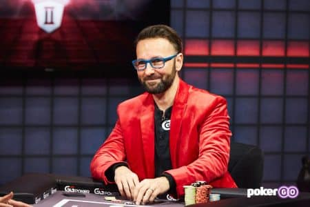 Daniel Negreanu from High Stakes Duel II on PokerGO.com