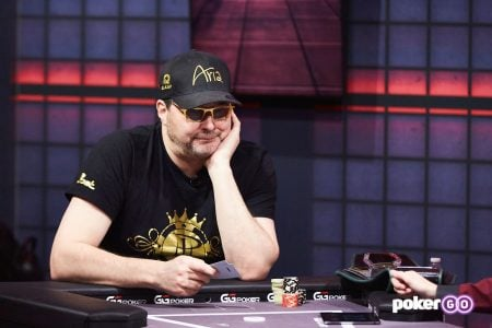 Phil Hellmuth from High Stakes Duel II on PokerGO.com